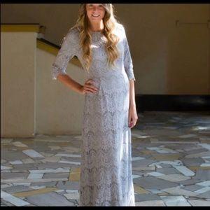 Maxi length dainty jewels dress
